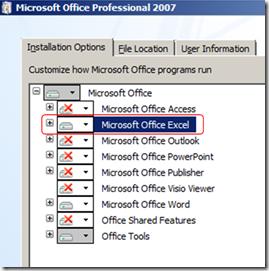 install-office-excel-installation-options