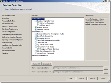 install-sql-features