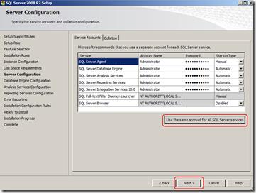 install-sql-Server-Configuration-screen