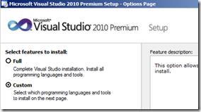 install-visual-studio-custom