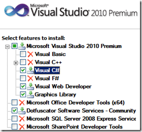 install-visual-studio-features