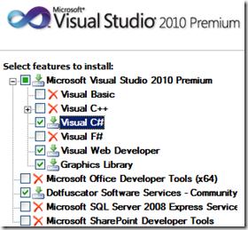 install-visual-studio-features
