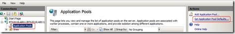Set-Application-Pool-Defaults