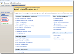 SharePoint-admi-application-Management