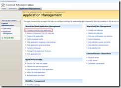 SharePoint-admi-create-extend-web-app