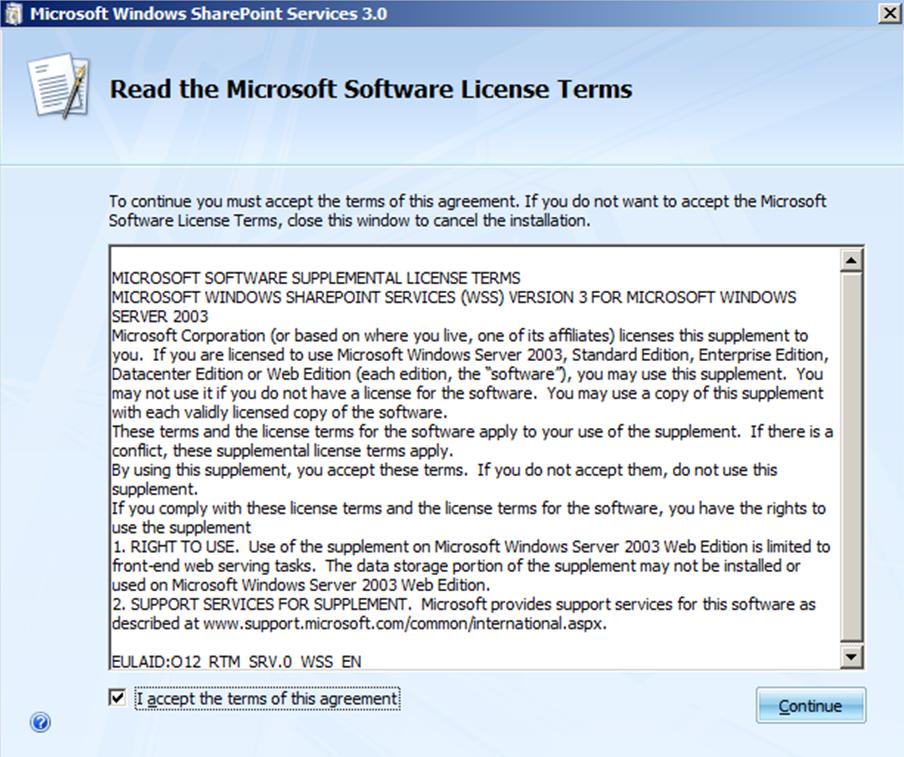 windows sharepoint services 3.0 windows 7