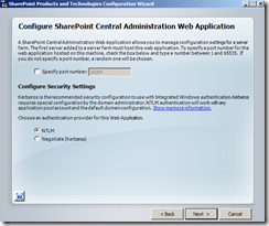 wss-configuration-Web-Application-screen