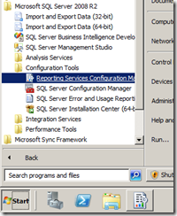 Reporting-Services-Configuration-Manager