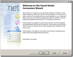 Visual-Studio-Conversion-Wizard