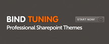 SharePoint Theme - Bind Tuning