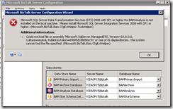 BAM-Analysis-Database-error