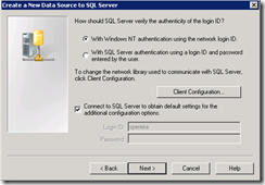 Create-ODBC-Data-SQL-Server-authentication
