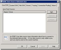 Create-ODBC-Data