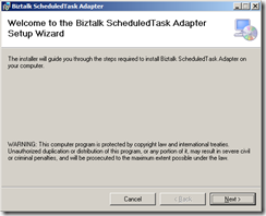 Scheduler-Task-Adapter-welcome-screen