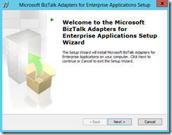 BTS-2013-Adapter-Pack-23-Welcome-Microsoft-BizTalk-Adapters-for-Enterprise-Applications-Setup-Wizard-screen