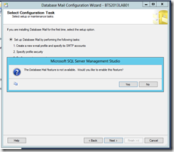 BTS-2013-Database-Mail-Select-Configuration-Task-message
