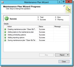 Maintenance-Wizard-Progress