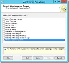 Select-Maintenance-Tasks