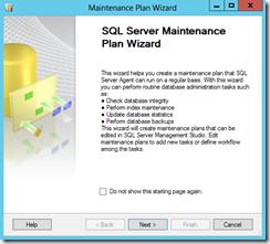 SQL-Server-Maintenance-Plan-Wizard-page