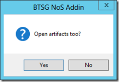 BTSG-NoS-Addin-open-artifact-to-option