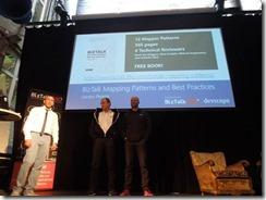 Sandro-Pereira-announcing-his-book-BizTalk-Innovation-Day-Oslo