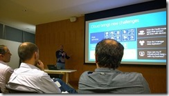 Sandro-Pereira-speaking-at-LIX-SQLPort-cloud-challenges