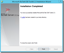 137-BizTalk-Server-2013-R2-BizTalk-ESB-Toolkit-installation-completed