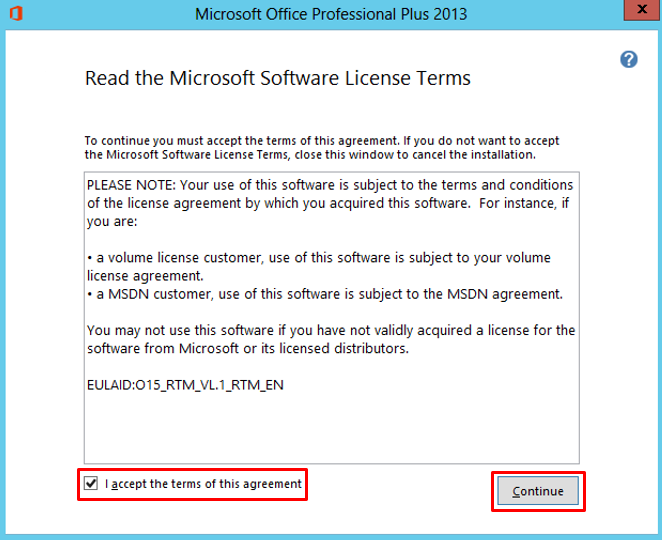 microsoft office 2013 volume license pack requires a windows vl edition