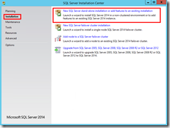 23-bts-2013-r2-sql-server-2014-installation-center-New-SQL Server-stand-alone-add-features-existing-installation