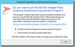 93-BizTalk-Server-2013-R2-Adapter-pack-customer-experience-improvement-program