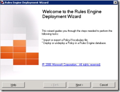 02-BTS2006-Business-Rules-Engine-Deployment-Wizard-Welcome