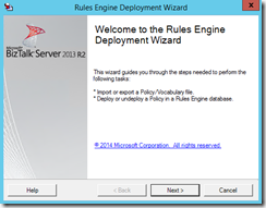 10-BTS2013R2-Business-Rules-Engine-Deployment-Wizard-Welcome