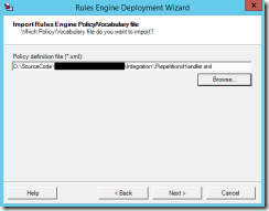 13-BTS2013R2-Business-Rules-Engine-Deployment-Wizard-Import-Policy-Vocabulary-file