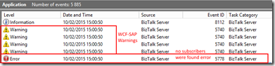 BizTalk-Server-2013-R2-WCF-SAP-Warnings-Event-Viewer-why