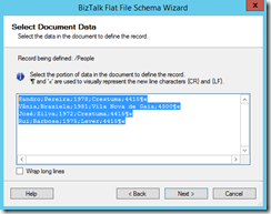 06-BizTalk-Flat-File-Schema-Wizard-Select-Document-Data-Page-option-2