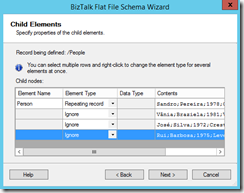 19-BizTalk-Flat-File-Schema-Wizard-Child-Elements-Page-option-2