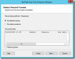 06-BizTalk-Flat-File-Schema-Wizard-Record-Format-positional