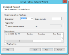 07-BizTalk-Flat-File-Schema-Wizard-Delimited-Record-positional