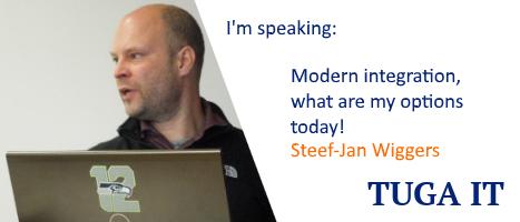 TUGA IT Speaker Steef Jan Wiggers