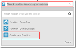 16-Azure-Portal-Logic-Apps-Designer-Create-New-Azure-Functions