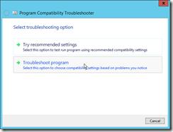 Visual-Studio-Troubleshoot-compatibility-option